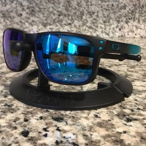 Oakley Holbrook Turquoise Fade| Sapphire Prizm